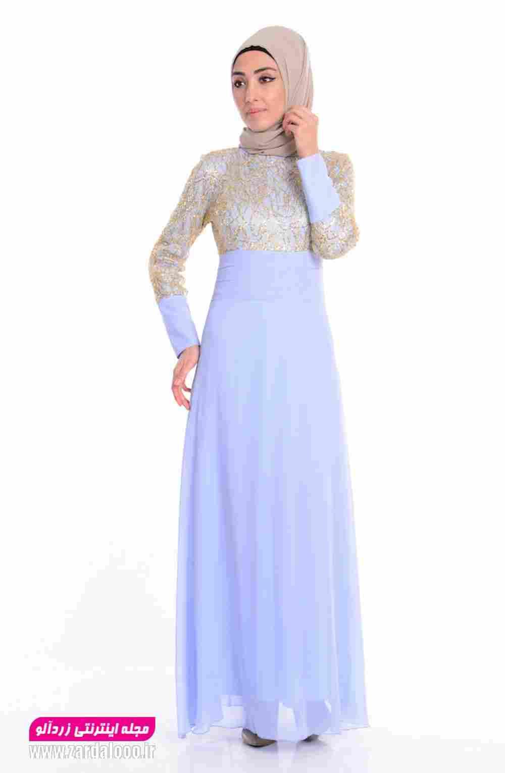 لباس مجلسی ساده و شیک جدید 2018