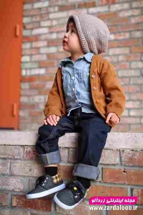 جدید ترین مدل های لباس کودک پسر برای زمستان