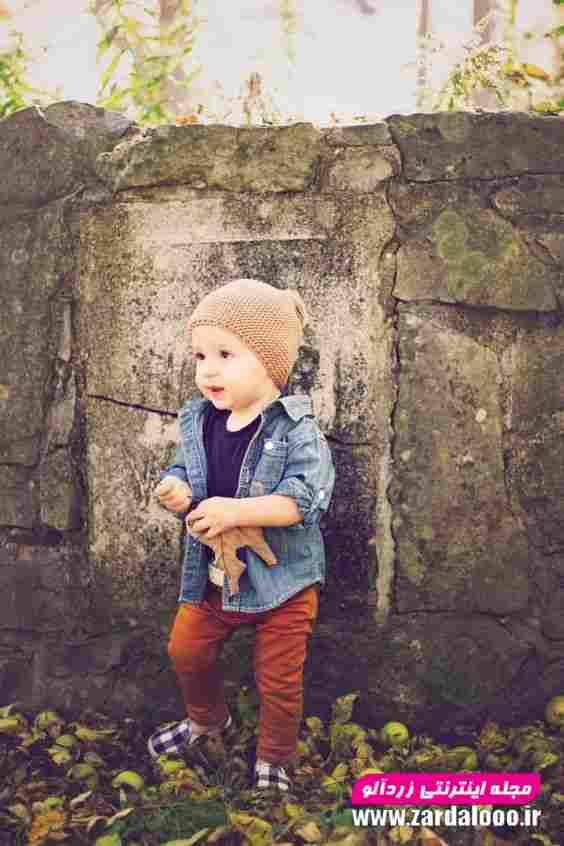 لباس زمستانه شیک کودک پسر