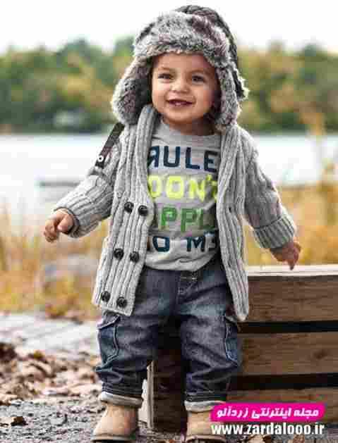 لباس بچه گانه پسرانه زمستانه شیک