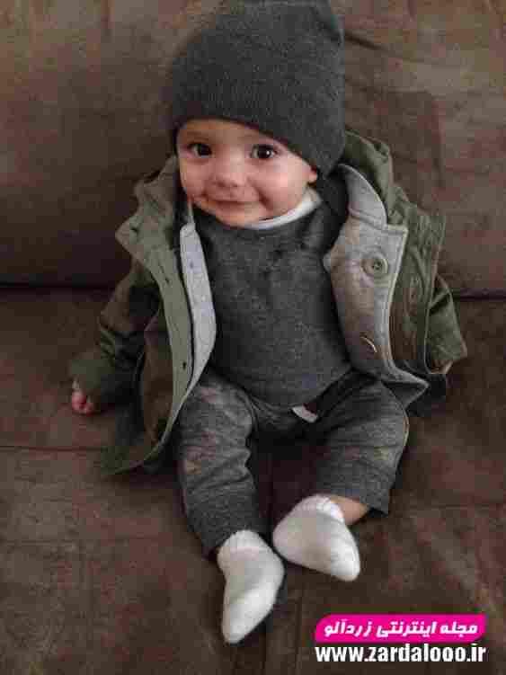 تیپ شیک زمستانه برای کودک پسر