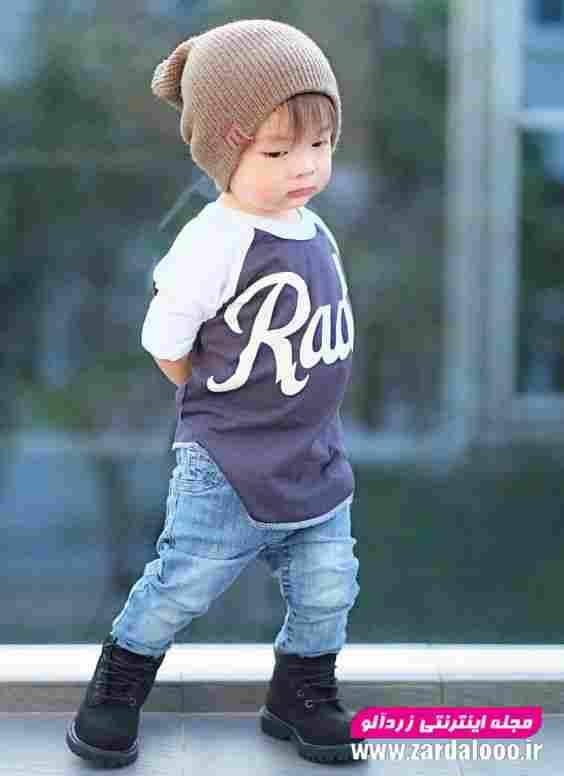 لباس زمستانه شیک برای کودک پسر