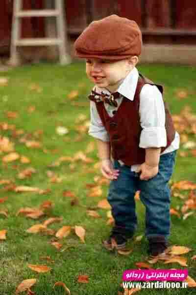 مدل جدید لباس زمستانه کودک پسر