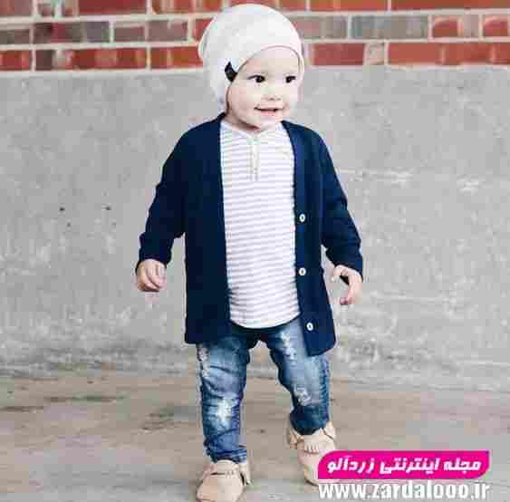 لباس خوشگل پسرانه کودکانه زمستان