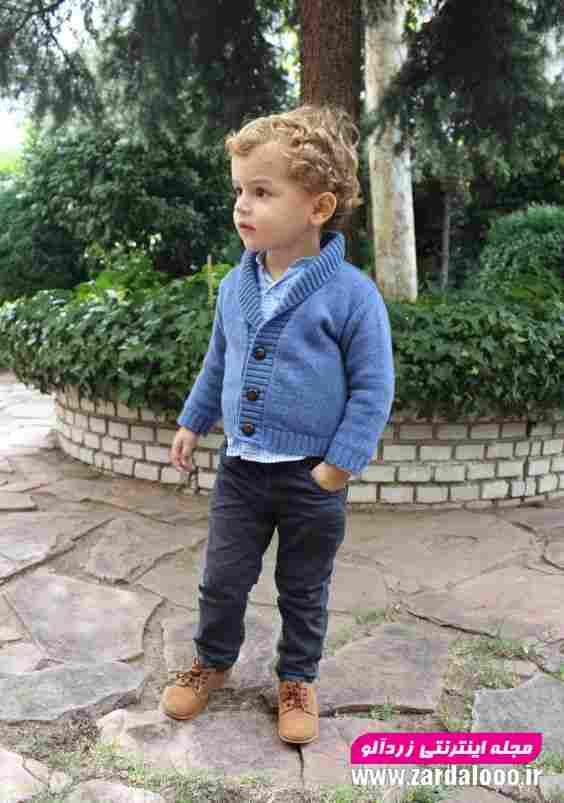 مدل لباس شیک زمستان کودک پسر