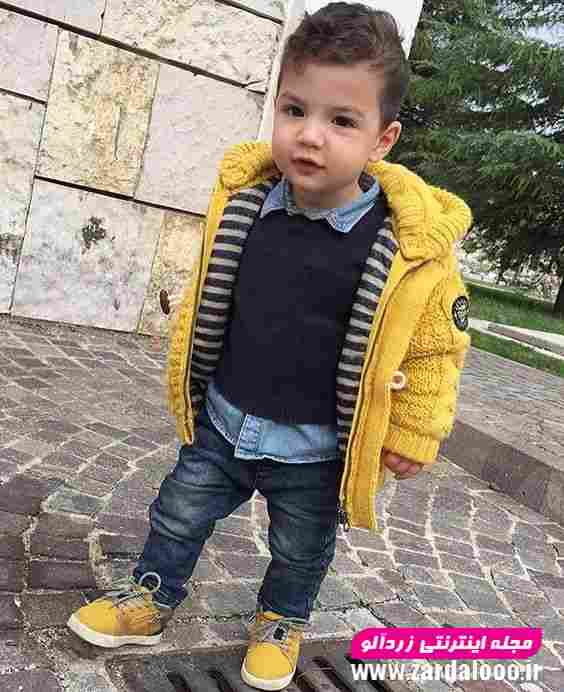 عکس لباس زمستانه جدید برای کودک پسر