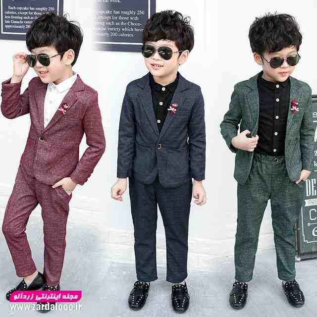 مدل های کت و شلوار بچه گانه که پسرک شما را تبدیل به یک جنتل من میکند