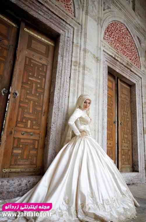 مدل لباس عروس شیک وپوشیده