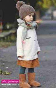 مدل لباس کودکانه دختر بسیار شیک پاییزه و زمستانه