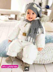 لباس زمستانی بچه گانه دخترانه