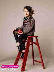 مدل لباس پاییزه دخترانه بچه گانه