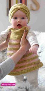لباس پاییزه دختر بچه جدید