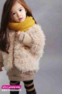 مدل لباس زمستانه شیک دختر بچه