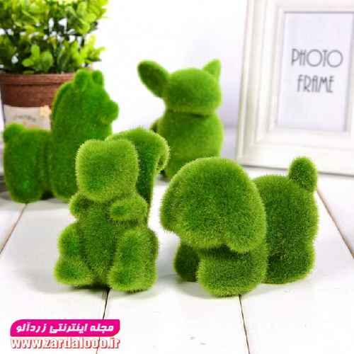 سبزه شکل دار شیک و جدید