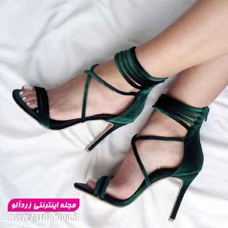 عکس های کفش پاشنه بلند - کفش پاشنه بلند شیک - مدل کفش پاشنه بلند مجلسی