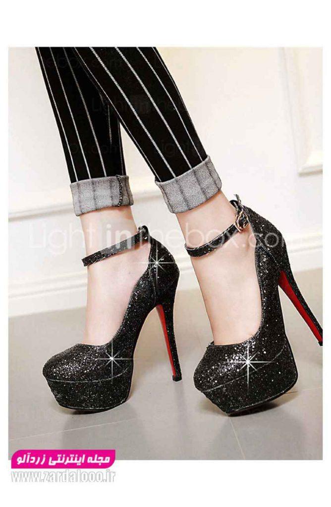 عکس کفش زنانه - مدل کفش دخترانه پاشنه بلند - مدل کفش مجلسی زنانه جدید