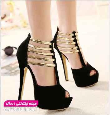 کفش زنانه پاشنه بلند - مدل کفش مجلسی دخترانه پاشنه بلند  - عکس کفش مجلسی پاشنه بلند - عکس کفش های پاشنه بلند