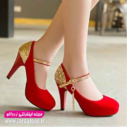 کفش مجلسی پاشنه بلند - مدل کفش مجلسی دخترانه - مدل کفش پاشنه بلند دخترانه