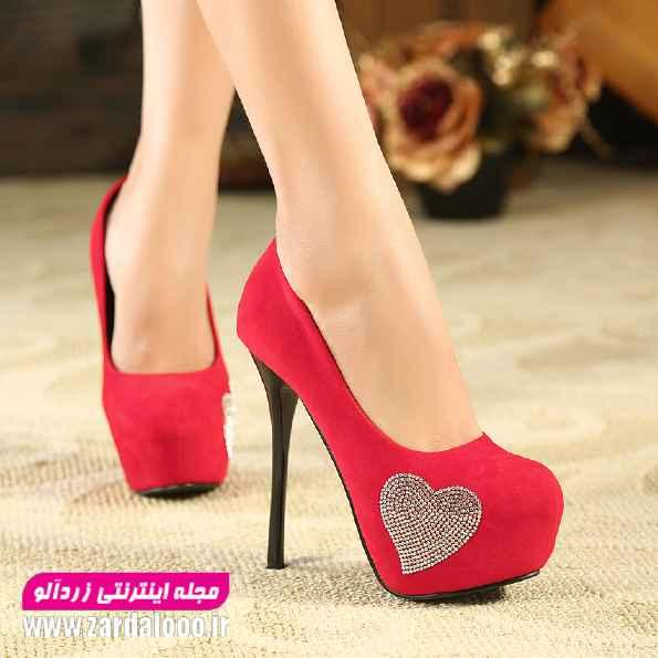 کفش پاشنه بلند عروس - عکس کفش پاشنه بلند دخترانه  - کفش پاشنه دار دخترانه