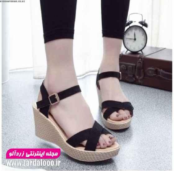 جدیدترین مدل کفش پاشنه بلند دخترانه و زنانه - کفش پاشنه بلند نوک باز 2019 - پاشنه بلند زنانه نوک باز شیک