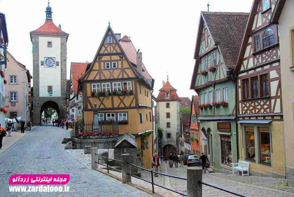 روستاییهای آلمان به شهرها مهاجرت نمیکنند!