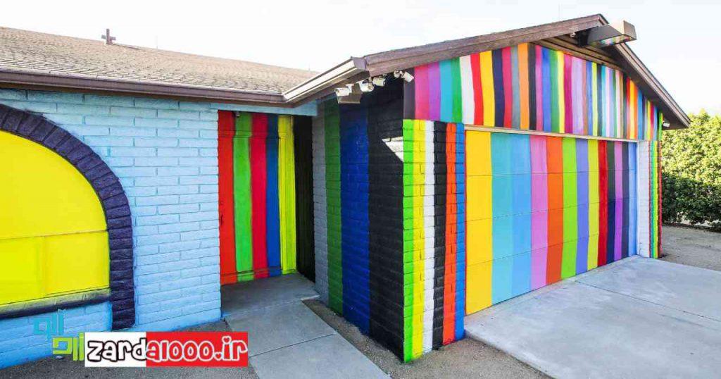 از چه رنگهایی در زیبایی خانه استفاده کنیم ؟