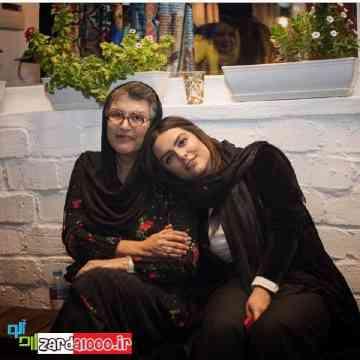 رویا تیموریان و دخترش دنیا مدنی