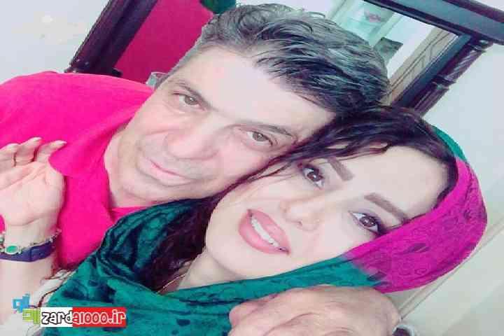 عکس شیدا یوسفی و دایی او زردآلو