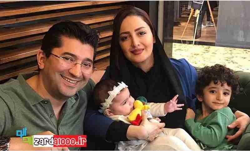 عکس شیلاخداداد به همراه همسر و فرزندانش
