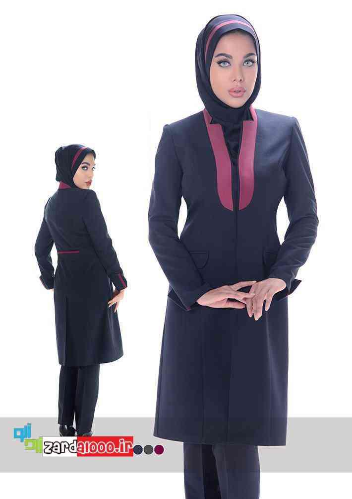 لباس فرم اداری خانمها - مدل مانتو شلوار اداری - مانتو فرم اداری شیک