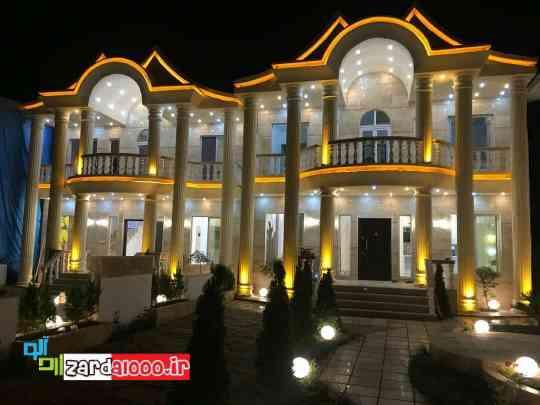 نمای خانه های ویلایی ایرانی