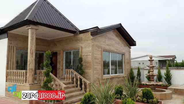 نمای ویلاهای شمال - نمای خانه های ویلایی - نمای بیرونی خانه های دوبلکس