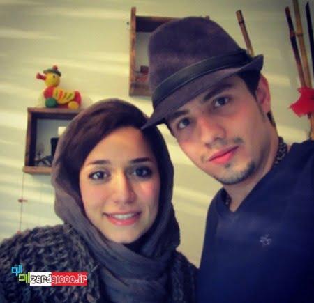 امیر کاظمی و همسرش اینستاگرام