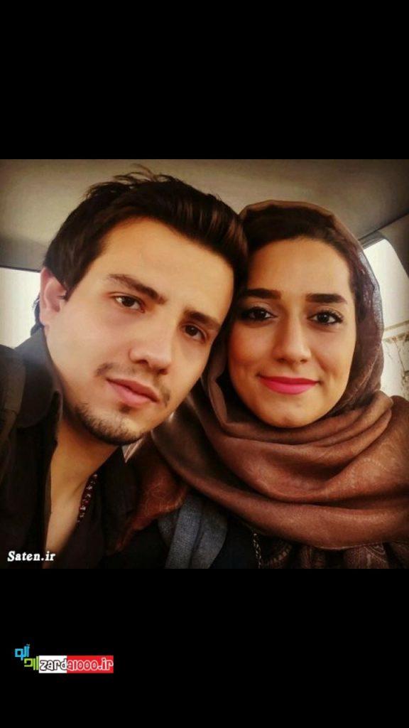 عکس امیر کاظمی و همسرشش