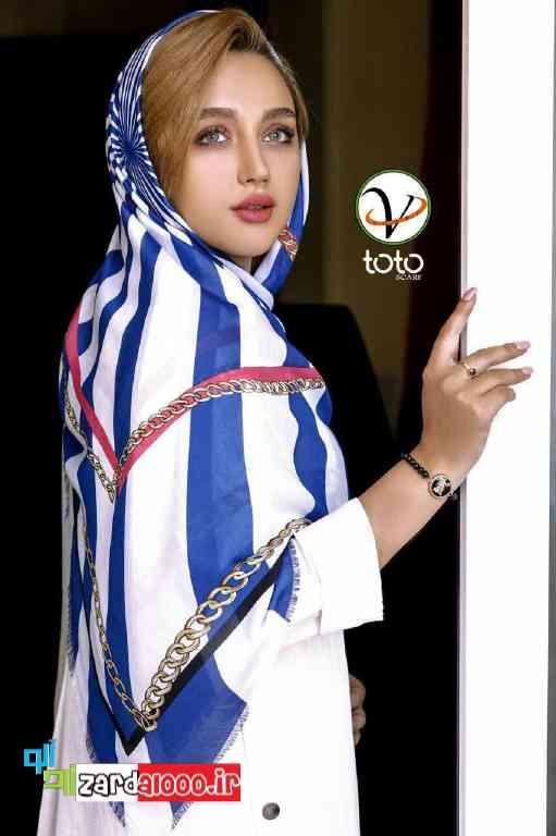 مدل شال و روسری مجلسی