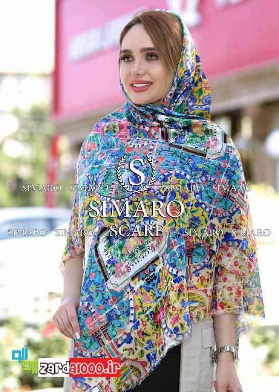 مدل روسری شالی