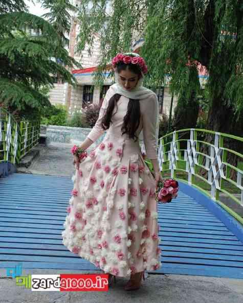 لباس عروس هانیه غلامی