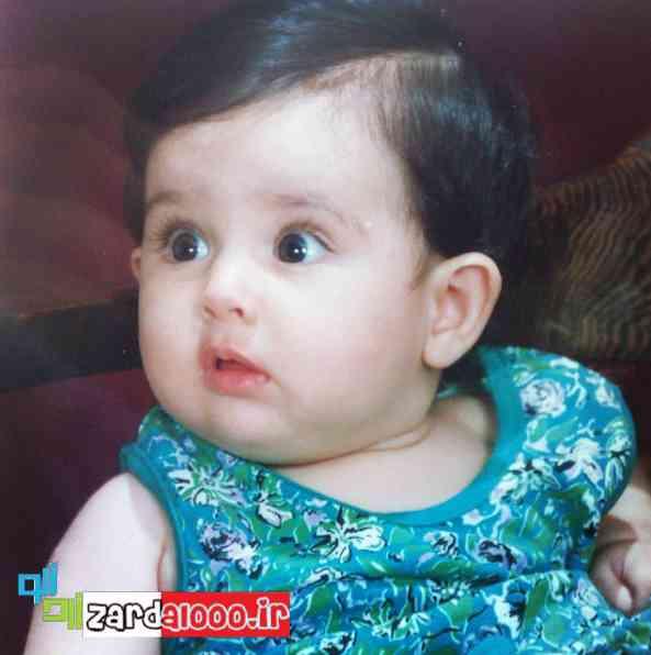 عکس کودکی هانیه غلامی