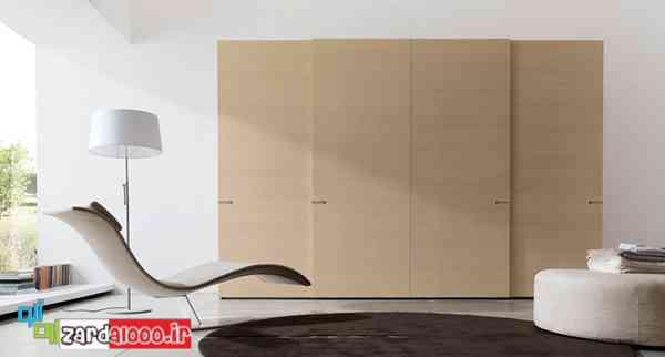 انواع کمد دیواری-کمدهای ریلی-طرح کابینت برای آشپزخانه