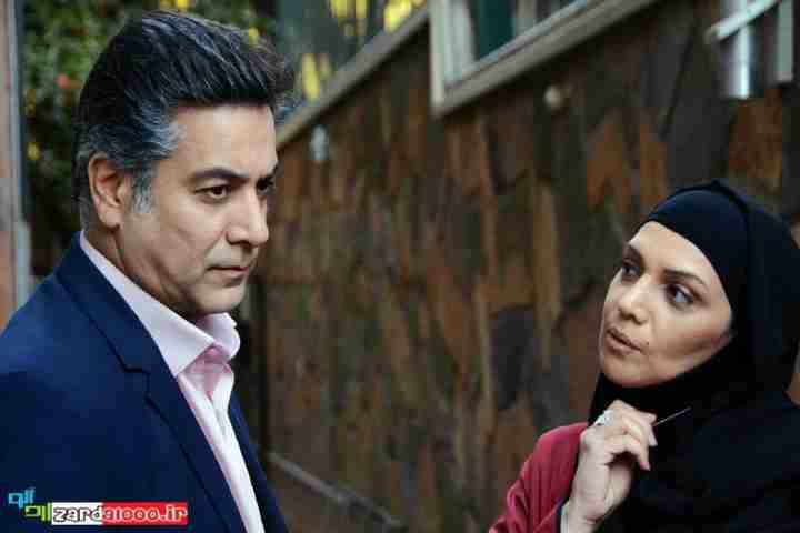 عکس حمیدرضا پگاه و الهام پاوهنژاد در سریال هست و نیست