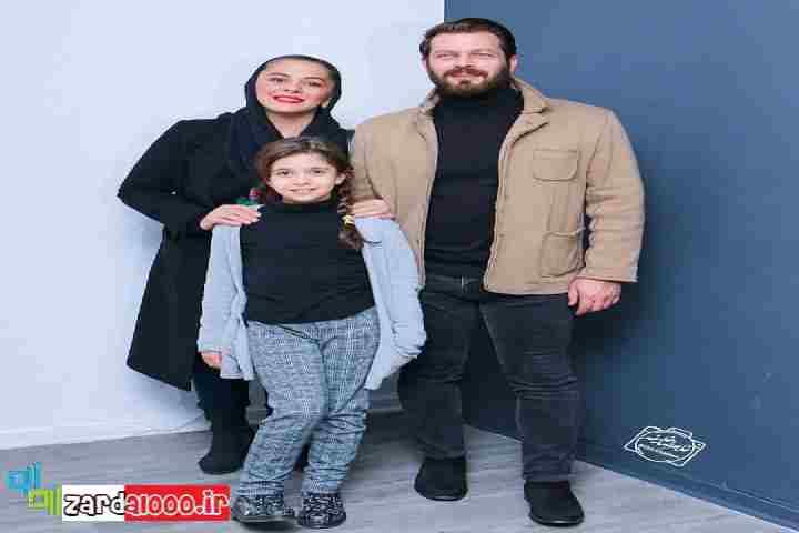 عکس پژمان بازغی و همسر و دخترش