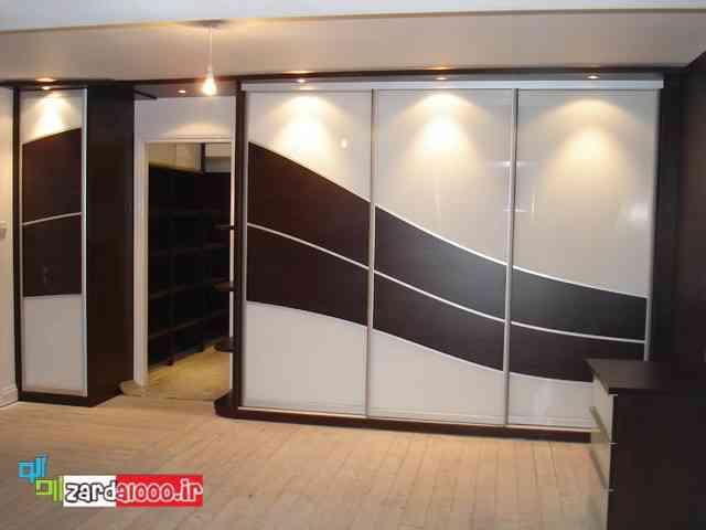 مدل کمد دیواری mdf-پارتیشن-طرح کمد اتاق خواب