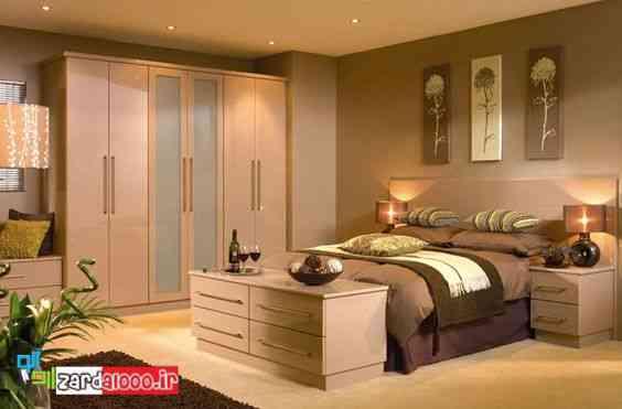 کابینت مدرن-طراحی کمد-کمد دیواری رختخواب و لباس