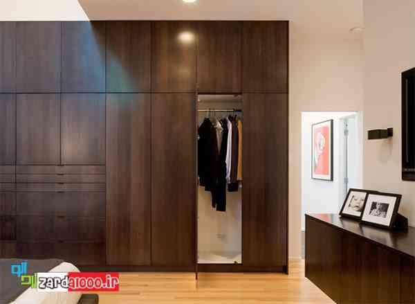 کمد دیواری اتاق خواب-مدل طبقه بندی داخل کمد دیواری-کمد دیواری دخترانه