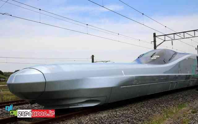 تصاویر آزمایش سریعترین قطار جهان در ژاپن