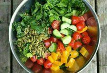 Photo of مواد غذایی ضد سرطان برای استفاده در سالاد ها