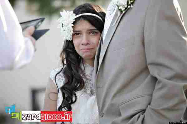 مراسم ازدواج غم انگیز دختر 11 ساله + تصاویر