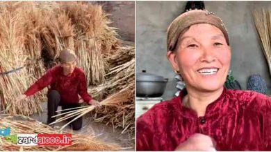 Photo of مادر فداکار چینی که زندگیش را فدای دخترش کرده است