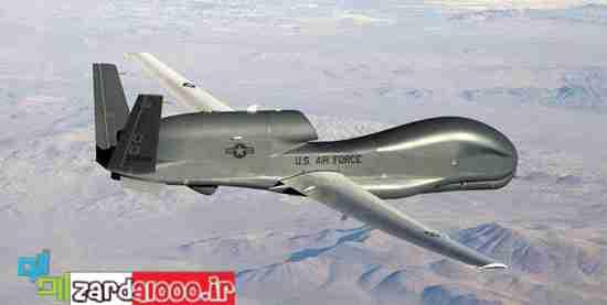 سرنگونی پهپاد جاسوسی آمریکا در سواحل هرمزگان