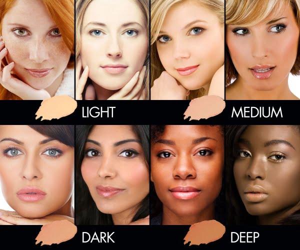 آرایش های مناسب برای هر رنگ پوست